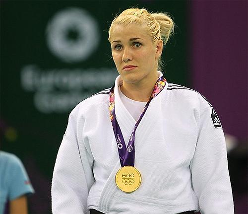 Золота медаль Інни Черняк