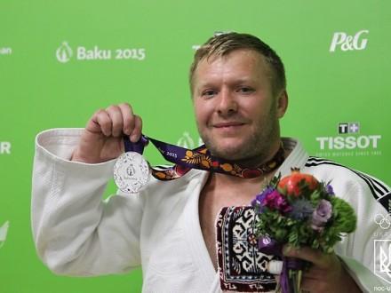 Срібна нагорода Олександра Помінова
