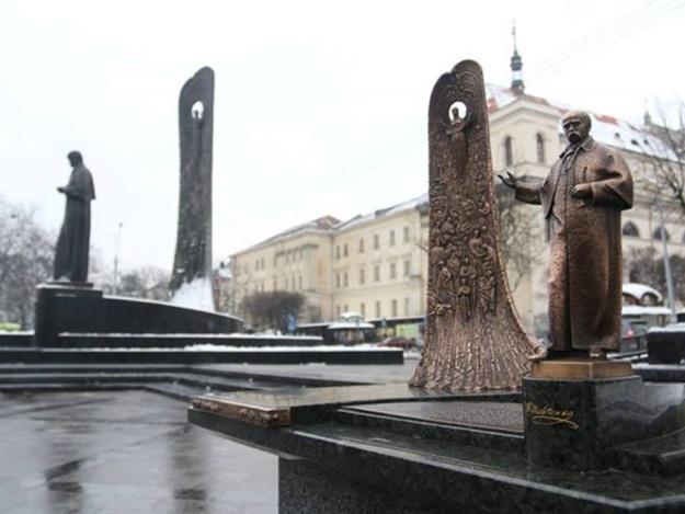 Міні-копія пам'ятника Тарасу Шевченку для незрячих у Львові