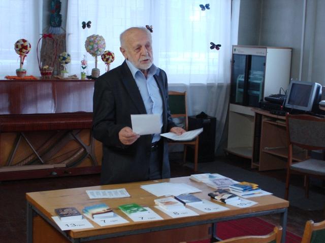 Поет, науковець, винахідник, заслужений діяч культури України Віталій Іващенко
