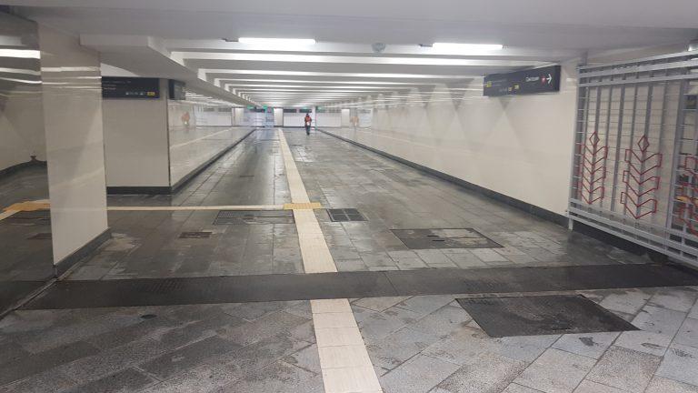 Станція метро «Святошин», підземний перехід