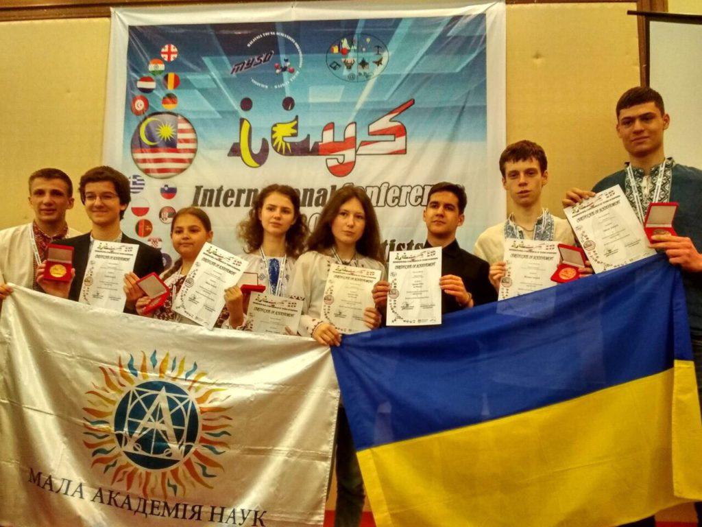 Львівський школяр отримав золоту медаль за пристрій для незрячих