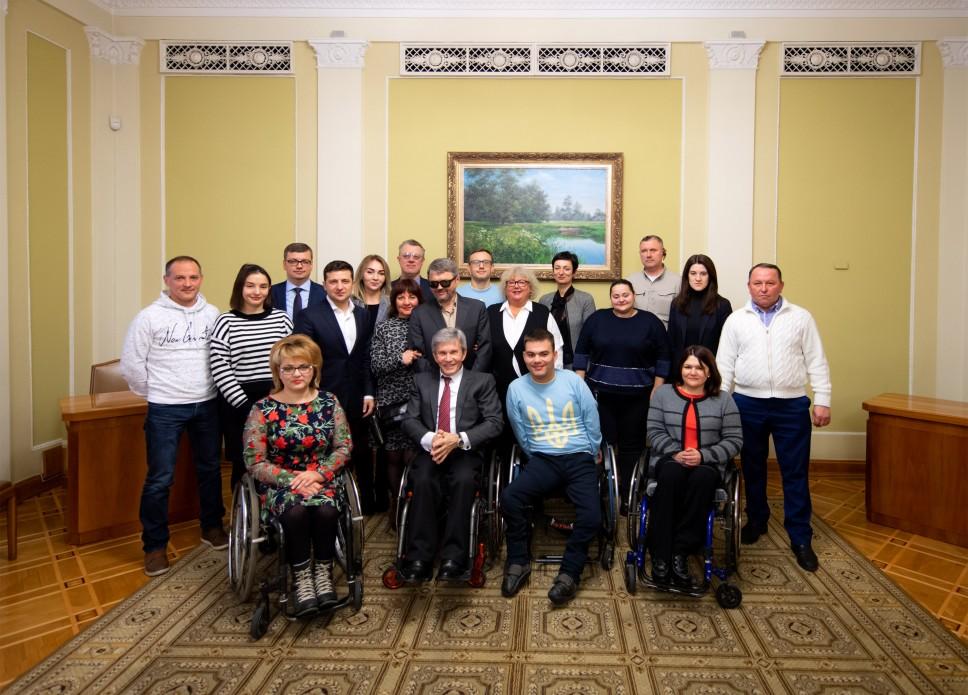Колективна фотографія з Президентом України