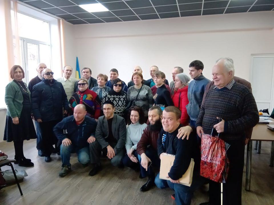 Конкурс читців за Брайлем, Київ, 04.12.2019